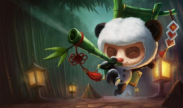 Новый скин teemo panda